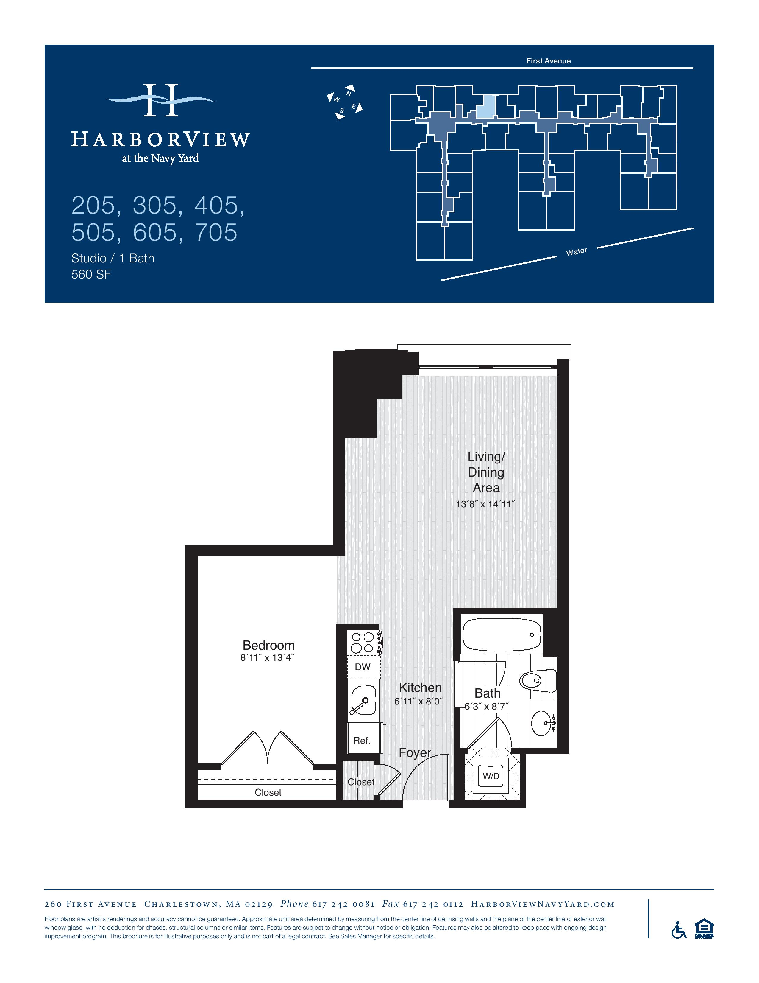 North End Boston Apartments in Charlestown MA | HarborView