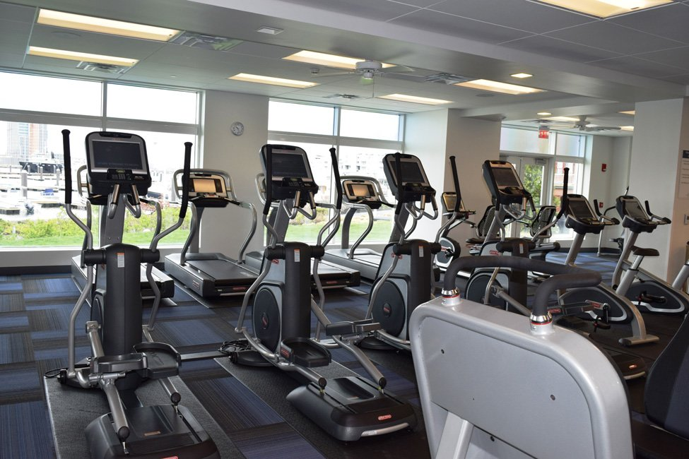 Harbor View At The Navy Yard - Fitness Room with Treadmills and Stationary Bikes