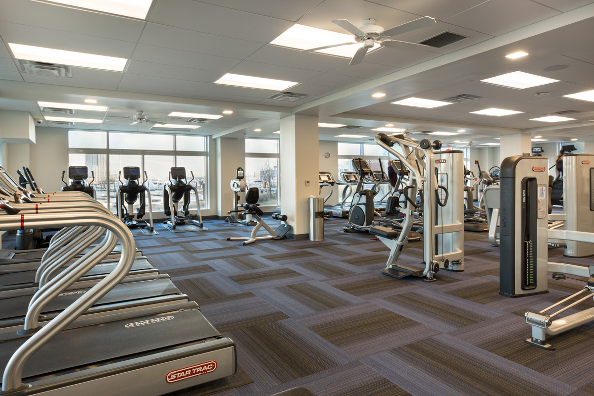 Harbor View At The Navy Yard - Fitness Room