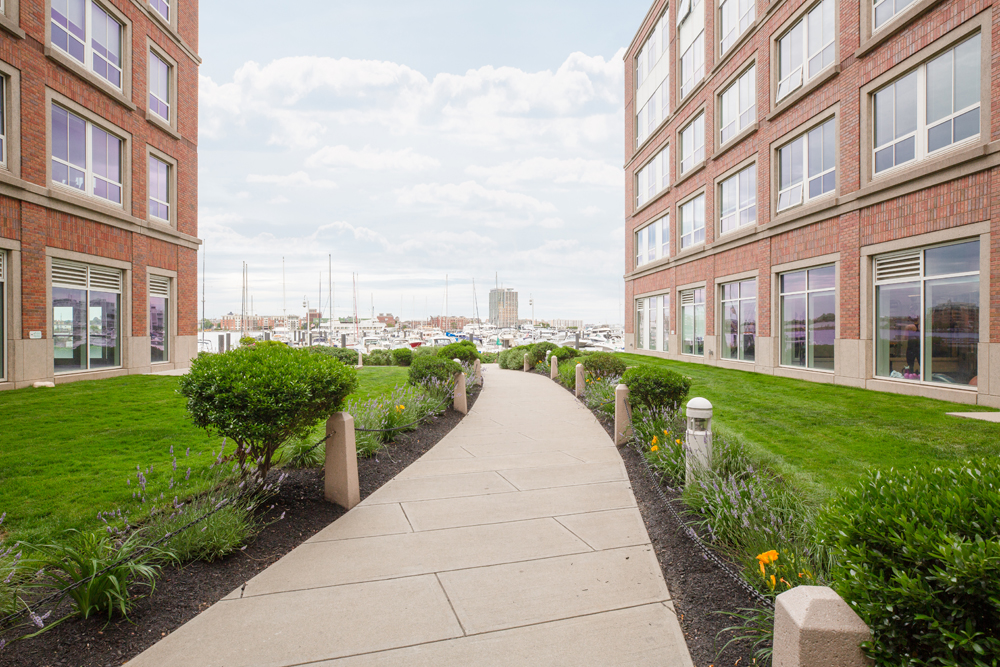 Harbor View At The Navy Yard - Pathway of the Apartment