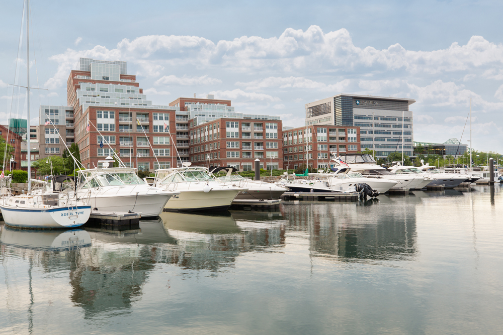 Harbor View At The Navy Yard - Parked Yachts