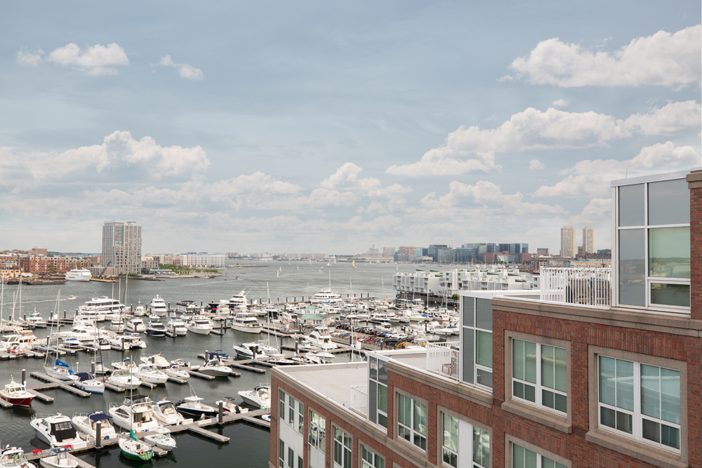 Harbor View At The Navy Yard - Outside View from the Apartment