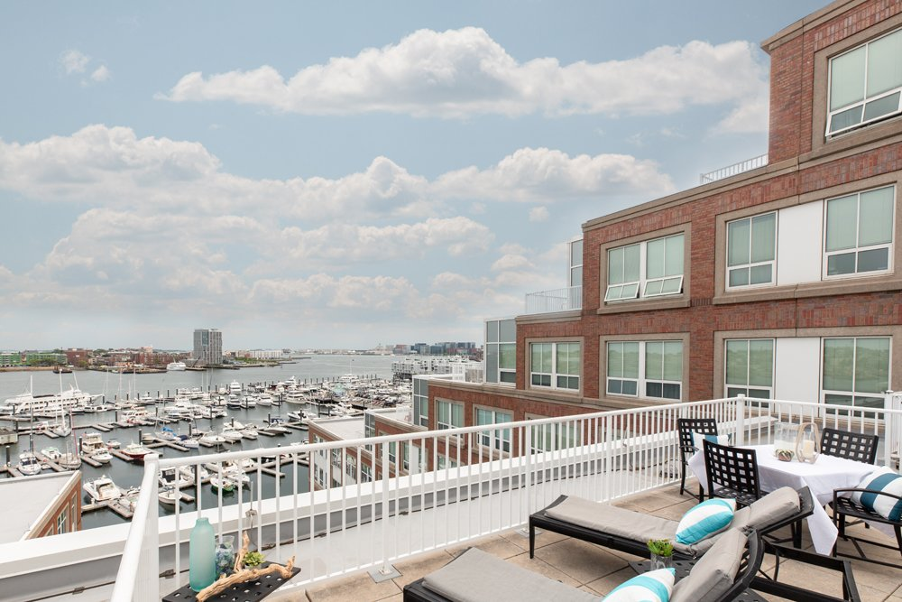Harbor View At The Navy Yard - Rooftop Terrace